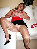 Dissolute experienced babes taking off their bra