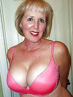 Sensational older housewives teasing like a pro