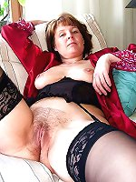 Fantastical older granny hardcore drilled