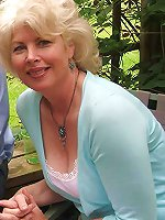 Enchanting mature milf in good shape