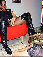 Hottest femdom mature action from Legs World